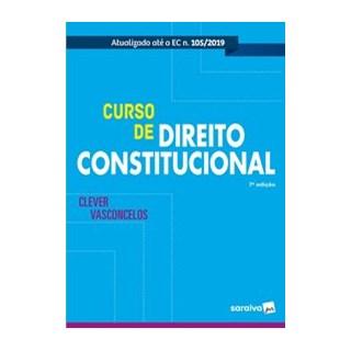Livro - Curso de direito constitucional - Vasconcellos - Saraiva