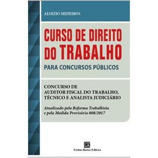 Livro - Curso de Direito do Trabalho para Concursos Públicos - Medeiros