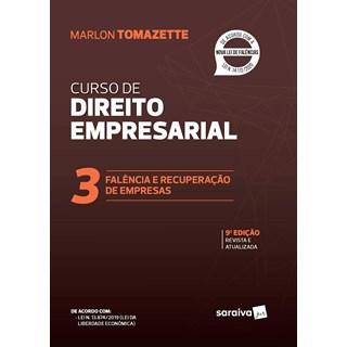 Livro Curso de Direito Empresarial Vol. 3 - Tomazette - Saraiva