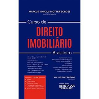 Livro Curso de Direito Imobiliário - Borges - Revista dos Tribunais