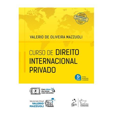 Livro - Curso de Direito Internacional Privado - Mazzuoli