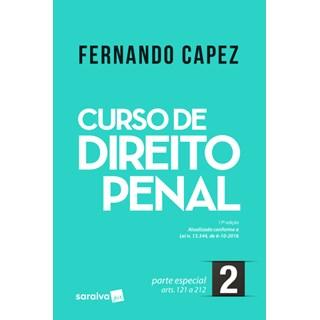 Livro - Curso de Direito Penal - Parte Especial - Vol 2 - Capez