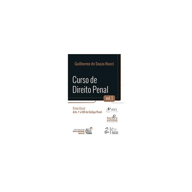 Livro - Curso de Direito Penal - Parte Geral - Vol. 1 - Nucci - Forense