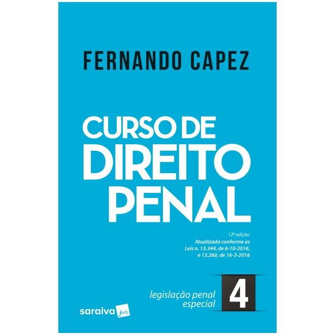 Livro - Curso de Direito Penal vol 4 - Legislação Penal Especial - Capez