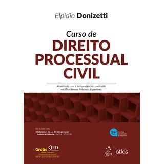 Livro Curso de Direito Processual Civil - Donizetti - Atlas