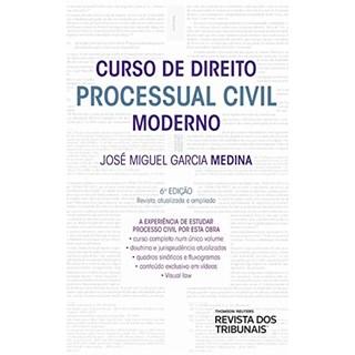 Livro - Curso de Direito Processual Civil Moderno - Medina - Revista dos Tribunais