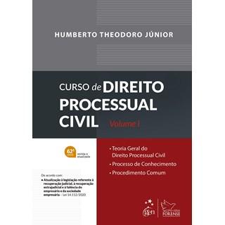 Livro Curso de Direito Processual Civil vol 1- Junior - Forense