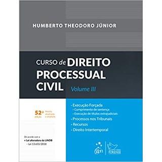 Livro - Curso de Direito Processual Civil vol 3 - Theodoro Jr. - Forense
