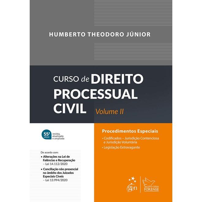 Livro - Curso de Direito Processual Civil - Vol. II - Theodoro Junior
