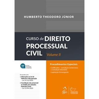 Livro Curso de Direito Processual Civil - Vol. II - Theodoro Junior - Forense