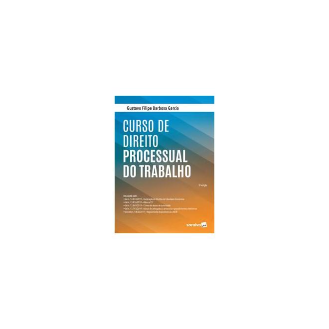 Livro - Curso de Direito Processual do Trabalho - Garcia 9º edição