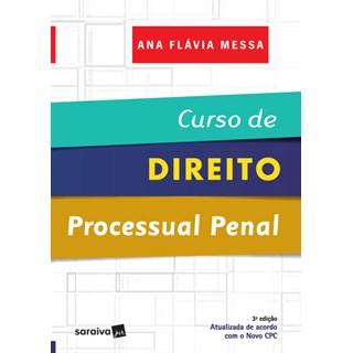 Livro - Curso de Direito Processual Penal - Indicado Para Concursos da OAB - Messa