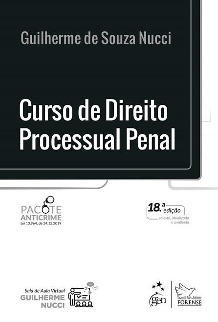 Livro - Curso de Direito Processual Penal - Nucci
