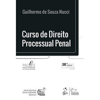 Livro Curso de Direito Processual Penal - Nucci - Forense