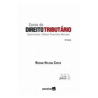 Livro - Curso de Direito Tributário - Constituição e Código Tributário Nacional - Costa 10º edição