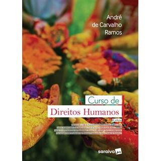 Livro Curso de Direitos Humanos - 8ª Edição de 2021 - Saraiva