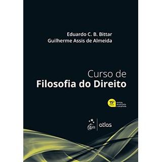 Livro Curso de Filosofia do Direito - Bittar - Atlas