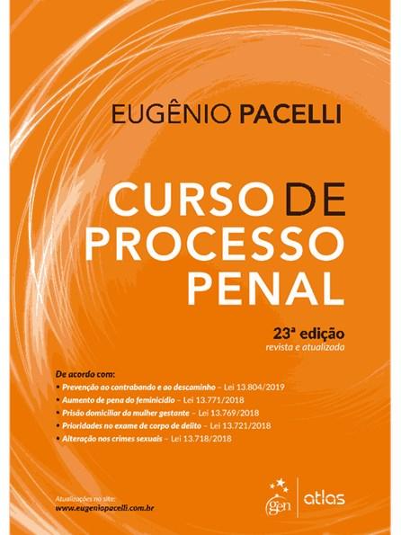Livro - Curso de Processo Penal - Pacelli