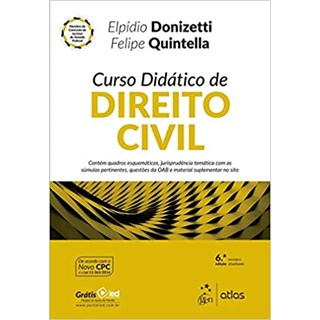 Livro - Curso Didático de Direito Civil - Donizetti - Atlas
