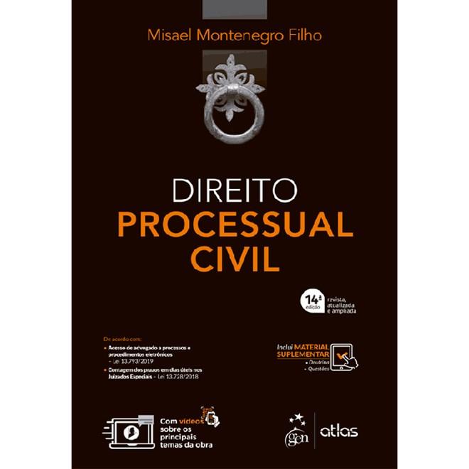 Livro - Curso Direito Processual Civil - Montenegro Filho