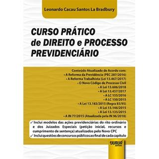 Livro - Curso Prático de Direito e Processo Previdenciário - Bradbury