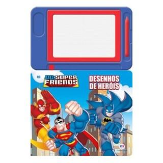 Livro - Dc - Super friends - Desenhos de heróis - Ciranda Cultural 1º edição
