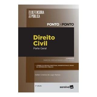 Livro - Defensoria pública – ponto a ponto – Direito Civil - Parte Geral - 2ª Edição 2020 - Gomes 2º