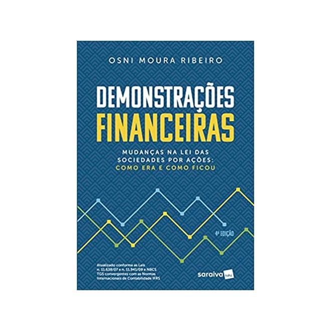 Livro - Demonstrações Financeiras - Ribeiro