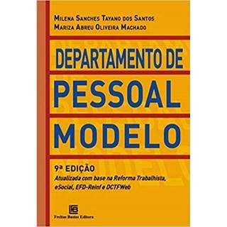 Livro - Departamento de Pessoal Modelo - Atualizada pela Reforma Trabalhista e eSocial - Santos