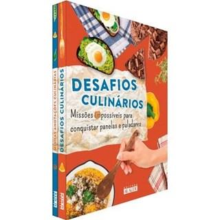 Livro - Desafios Culinários - Missões Impossíveis para Conquistar Panelas e  Paladares - Alaúde