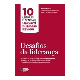 Livro - Desafios da liderança - Harvard Business Review 1º edição