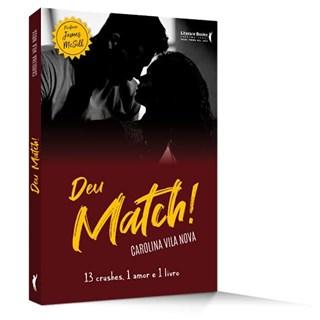 Livro Deu Match! - Vila Nova - Literare Books