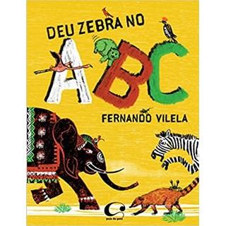 Livro - Deu Zebra no ABC - Vilela - Pulo do Gato