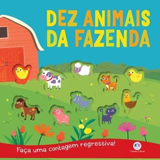 Livro - Dez animais da fazenda - Faça uma contagem regressiva!