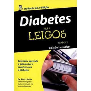 Livro - Diabetes para Leigos - Edição  de Bolso - Rubin
