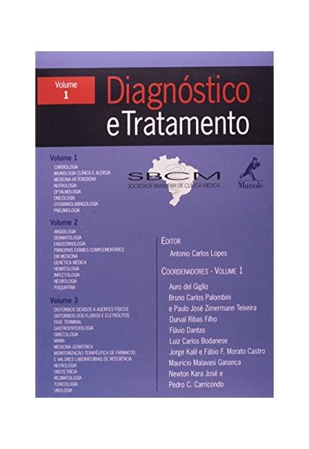 Livro - Diagnostico e Tratamento - SBCM Vol I - Lopes ***