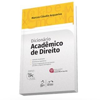 Livro - Dicionário Acadêmico de Direito - Acquaviva