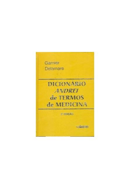 Livro - Dicionário Andrei de Termos de Medicina - Garnier