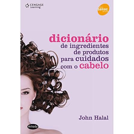 Livro - Dicionário de ingredientes de produtos para cuidados com o cabelo - Halal