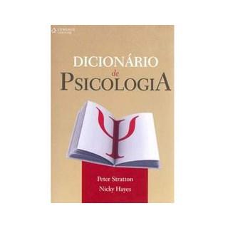 Livro - Dicionário de Psicologia - Stratton ***