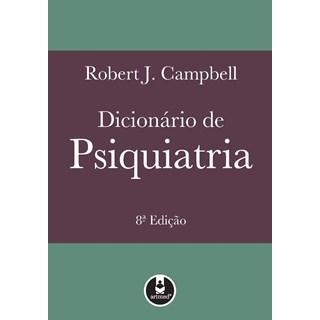 Livro - Dicionário de Psiquiatria - Campbell
