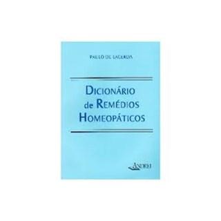 Livro - Dicionário de Remédios Homeopáticos - Lacerda