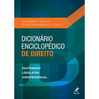 Livro - Dicionário Enciclopédico de Direito - Luz