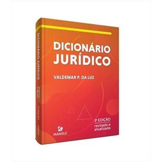 Livro - Dicionário Jurídico - Da Luz - Manole