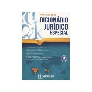 Livro - Dicionário Jurídico Especial - Rezende