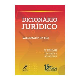 Livro - Dicionário jurídico - Luz 2º edição