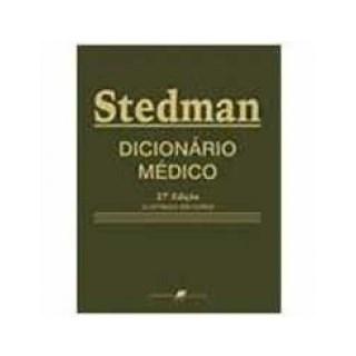 Livro - Dicionário Médico - Stedman