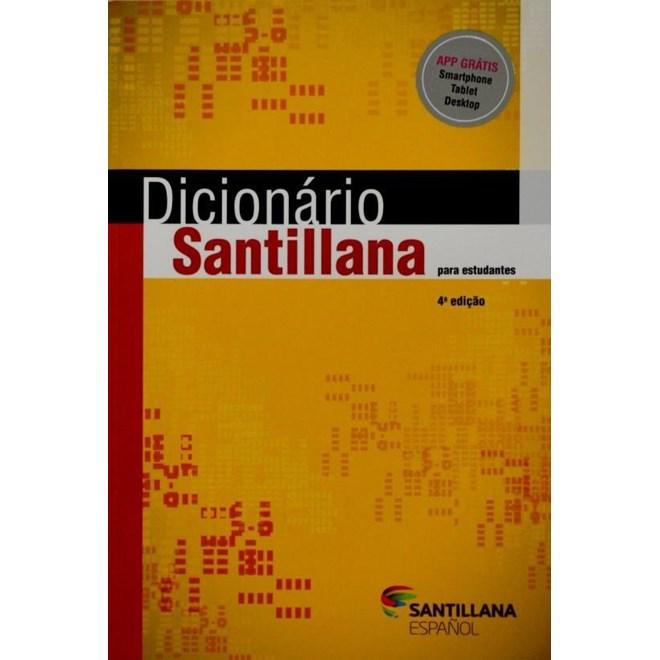 Livro - Dicionário Santillana Para Estudantes - Diaz