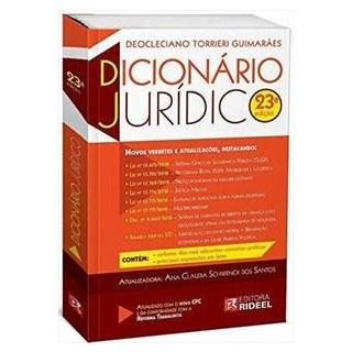 Livro - Dicionário Universitário Jurídico - Guimarães 22ª edição