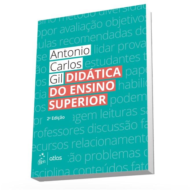 Livro - Didática do Ensino Superior - Gil